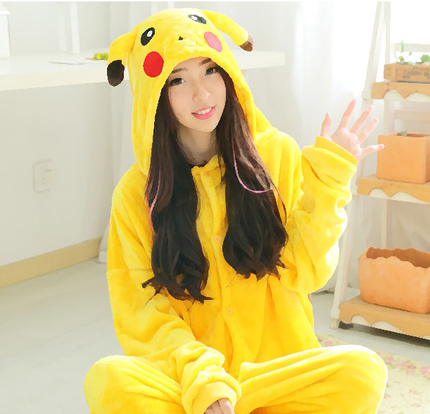 pikachu pajamas are good for kids
