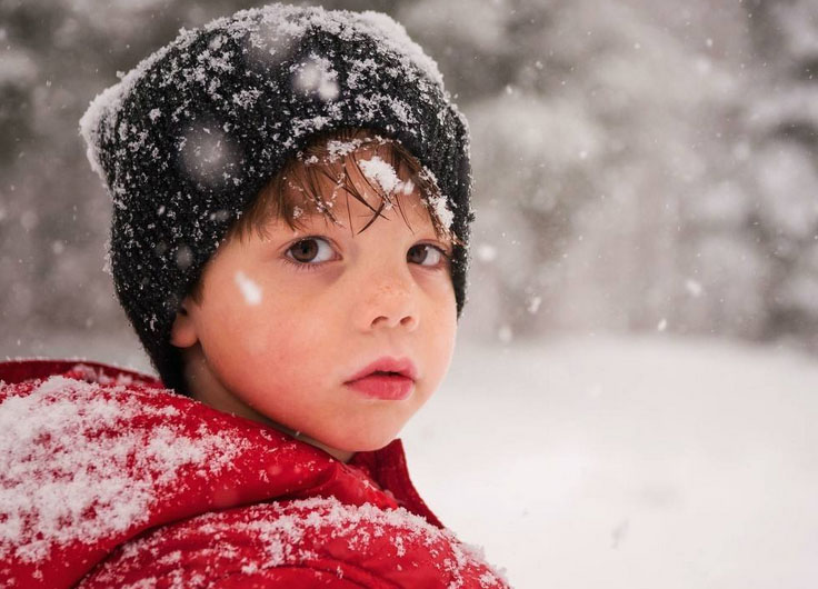 make kids have a warm winter