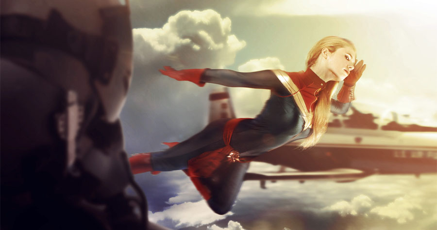 How to Cosplay Captain Marvel with the Help of OneHeroSuits Products