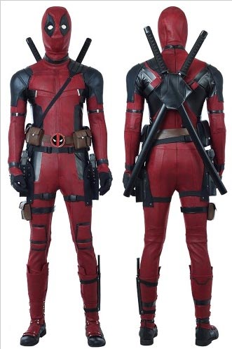 Deadpool cosplay costume by simcosplay