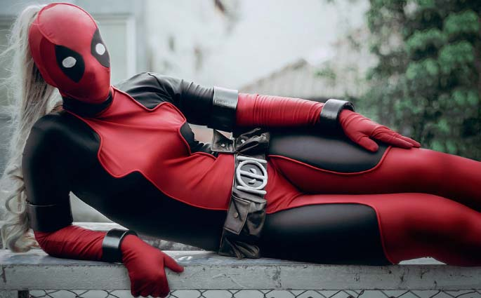 Wanda Wilson Female Deadpool Cosplay