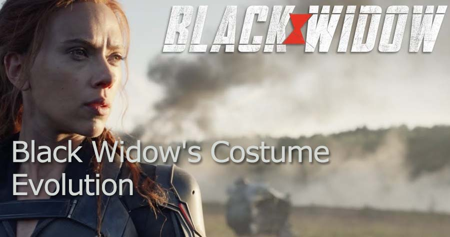 Black Widow Costume Evolution
