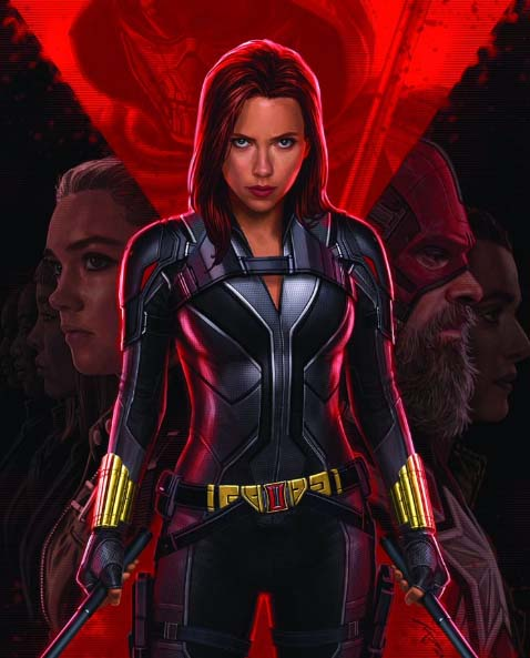 black widow 2020 new suit black edition