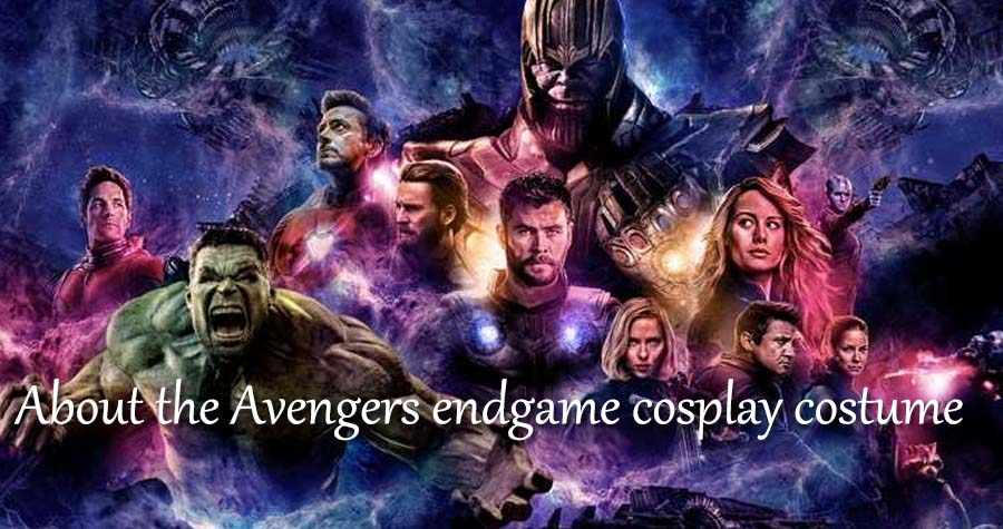 About the Avengers endgame cosplay costume