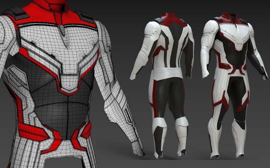 Avenger's endgame quantum real suit