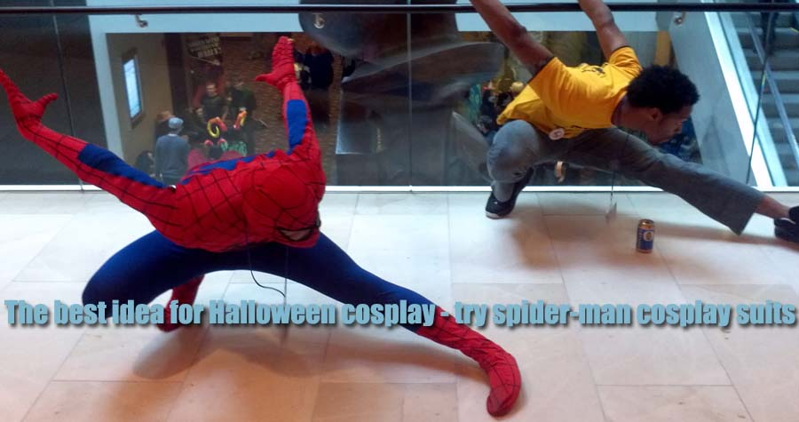 The best idea for Halloween cosplay - try spider-man cosplay suits
