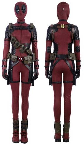 female deadpool costume by simcosplay