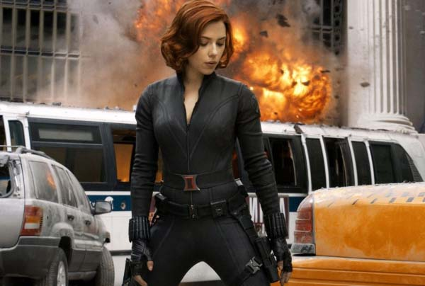 Black widow old suit the classic edition