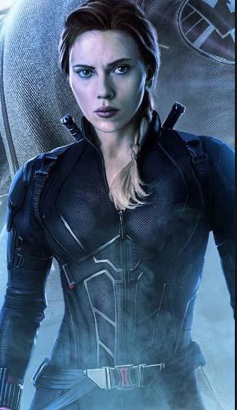 Black widow endgame edition suit
