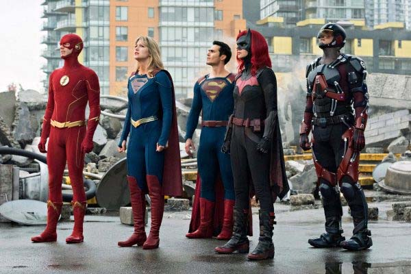 Crisis on Infinite Earths Superman and Supergirl