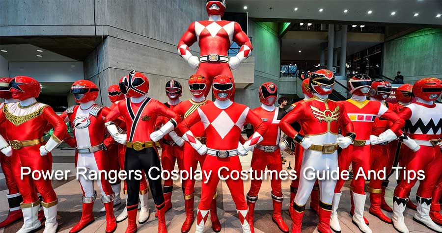 Power Rangers Cosplay Costumes Guide And Tips
